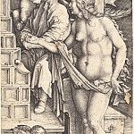 Durer Engravings - Temptation slacker (Sleep Doctor)
