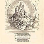 Life of the Virgin Mary - the title page, Durer Engravings