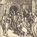 Durer Engravings - Circumcision of Christ