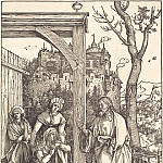 Durer Engravings - Christ bids farewell to his mother