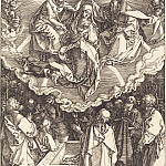 Ascension and Coronation of the Virgin, Durer Engravings