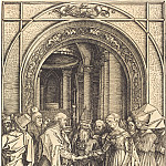 Durer Engravings - Betrothal of the Virgin Mary