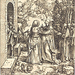 Durer Engravings - The Visitation