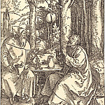 Durer Engravings - Saints Anthony and Paul the Hermit