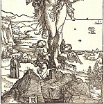 Durer Engravings - Ascension of St. Mary Magdalene