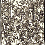 Calvary with three crosses, Durer Engravings