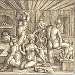 Durer Engravings - Women's Bath