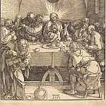 Durer Engravings - Lord's Supper