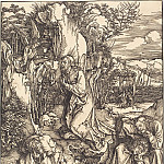 Durer Engravings - Christ in the Garden of Gethsemane