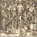 Durer Engravings - The Flagellation of Christ