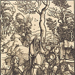 Durer Engravings - Lamentation of Christ