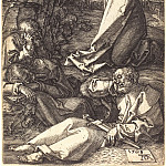 Durer Engravings - Agony in the Garden