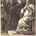 Durer Engravings - Christ before Caiaphas