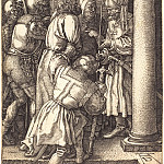 Durer Engravings - Christ before Pilate