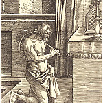 Penitent King David, Durer Engravings