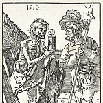 Durer Engravings - Soldier and Death