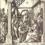 Adoration of the Magi, Durer Engravings