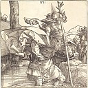 Durer Engravings - Saint Christopher