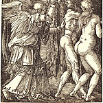 Durer Engravings - Expulsion from Paradise