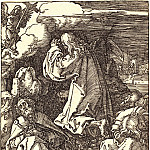 Christ on the Mount of Olives, Durer Engravings