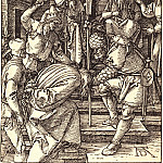 Durer Engravings - Christ before Annas