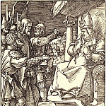 Christ before Caiaphas, Durer Engravings