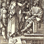 Jesus before Herod, Durer Engravings