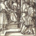 Durer Engravings - Pilate washing his hands