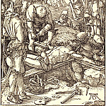 Durer Engravings - Nailing to the Cross