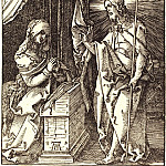 Durer Engravings - Christ, who is His Mother