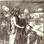 Durer Engravings - Do not touch me