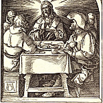 Supper at Emmaus, Durer Engravings