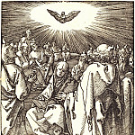 Durer Engravings - Pentecost (descent of the Holy Spirit)