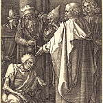 Durer Engravings - The apostles Peter and John healing a cripple