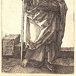 Durer Engravings - The Holy Apostle Thomas