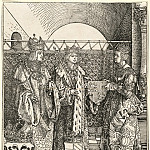 Durer Engravings - Engagement of Philip the Fair Jeanne Castile