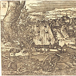 Durer Engravings - Landscape with a gun