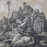 St. Anthony to the city, Durer Engravings
