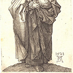 Durer Engravings - The Holy Apostle Simon