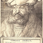 Durer Engravings - Frederick the Wise, Elector of Saxony