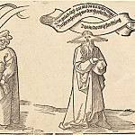 Durer Engravings - The Teacher, the Clergyman, and Providence