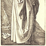 Durer Engravings - The Holy Apostle Philip