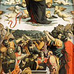 Giovanni Battista Gaulli (Baciccio) - Assumption of the Virgin