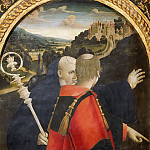 Guidoccio Cozzarelli - Saints Benedict and Lawrence