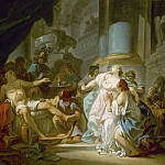 The Death of Seneca, Jacques-Louis David