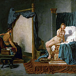Jacques-Louis David - Apelles, Alexander the Great and Campaspe