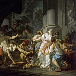 Jacques-Louis David - The Death of Seneca