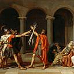 The Oath of the Horatii, Jacques-Louis David