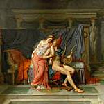 Paris and Helen, Jacques-Louis David