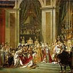 Jacques-Louis David - Consecration of the Emperor Napoleon I and Coronation of the Empress Josephine]
